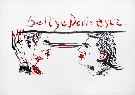 Untitled (Betty Davis Eyez), 2018