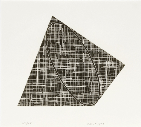 Untitled, 1989-90 woodcut printed on Mulberry paper