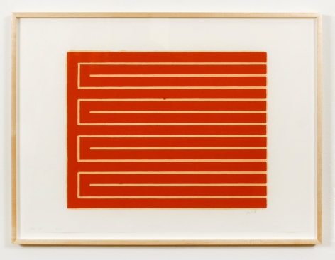 Untitled (#32), 1961-79, color woodcut