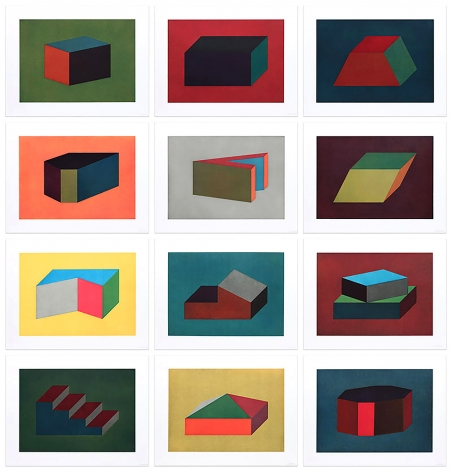 Forms Derived From a Cubic Rectangle, 1990