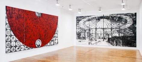 Matt Mullican: Large Paintings 1987-1989