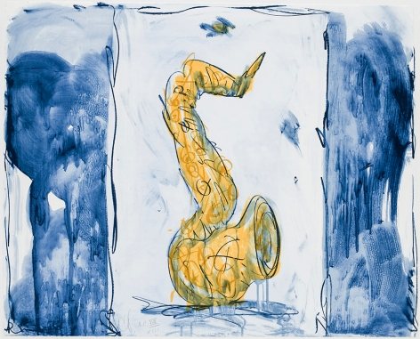 Soft Saxophone (Blue, Yellow, Red), 1992