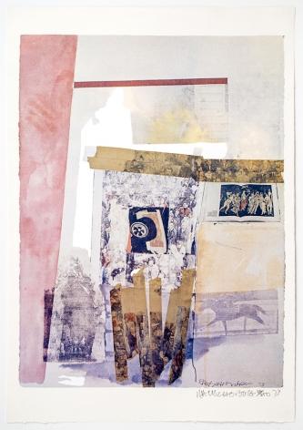 Watermark, 1973 color photoscreenprint with varnish