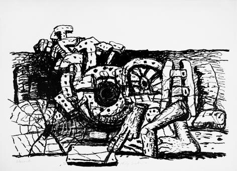 Elements, 1980 lithograph