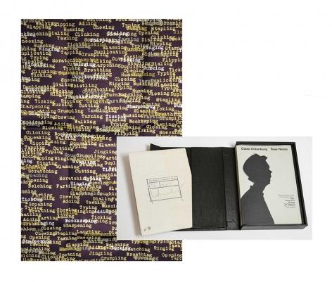 Claes Oldenburg Raw Notes, 2005