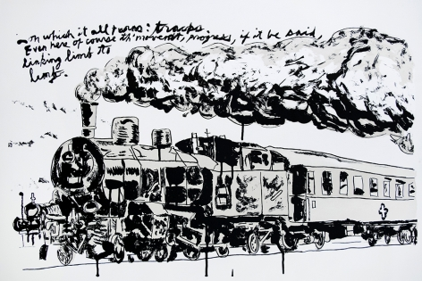 Untitled (Train), 2018
