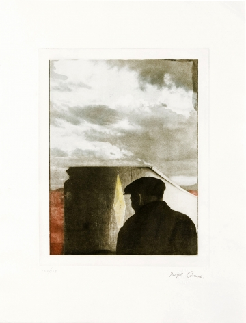 Untitled (Landscape with Figure), 1972