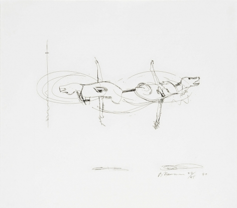 Untitled (C.64), 1989-90hard ground etching17 x 19 1/2 in. / 43.2 x 49.5 cmEdition of 45