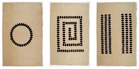 Untitled (D, E, F - Vertical), 1994