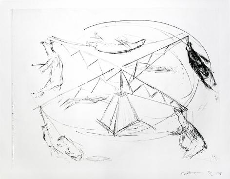 LARGE CAROUSEL, STATE I, 1988