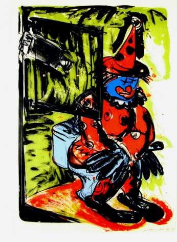Clown Taking a Shit, 1988