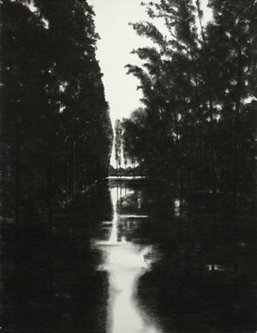 April Gornik, Flooded Trees, 2001
