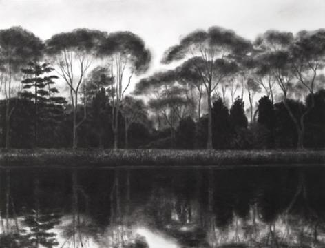 April Gornik, Edge of the Lake, 2003