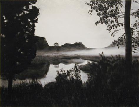 April Gornik, Valley Fog, 2000