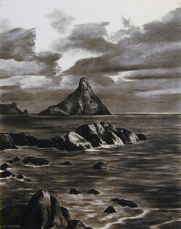 April Gornik, Island Point, 2000