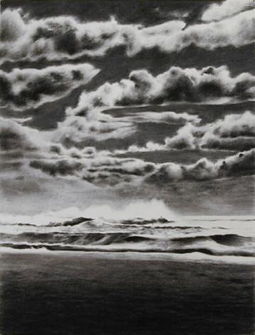 April Gornik, Hurricane Sky, 2000