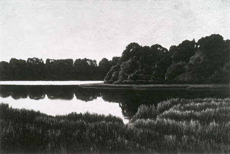 April Gornik, Marsh and Reflections, 2000