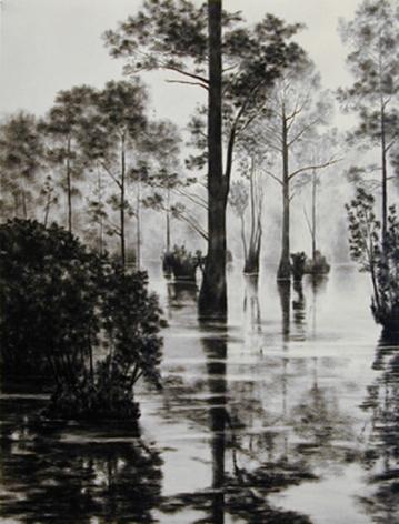 April Gornik, Swamp Light, 2000