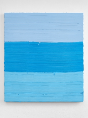 Untitled (Royal Blue Light/ Zurich Blue/ Titanium White), Jason Martin
