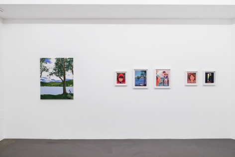 Installation Shot, That's Why We're Running Away, 2016