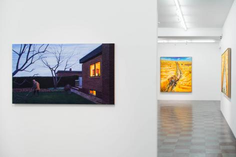 Installation Shot, Global Things - The Long Way Back, 2014