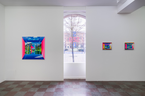 Installation Shot, The Doubling of Reality, 2016