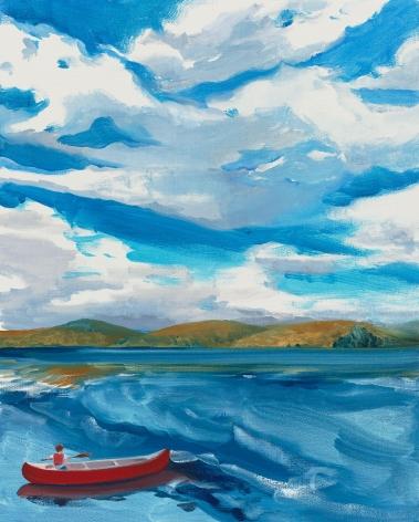 Crossing the Lake, Sebastian Blanck