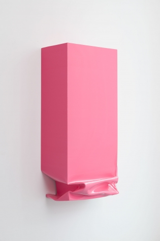 Throw (Pink), Angela de la Cruz