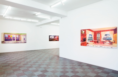 Installation Shot, Close To The Grove, 2012