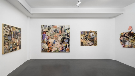 Installation Shot, Coming Attractions, 2015
