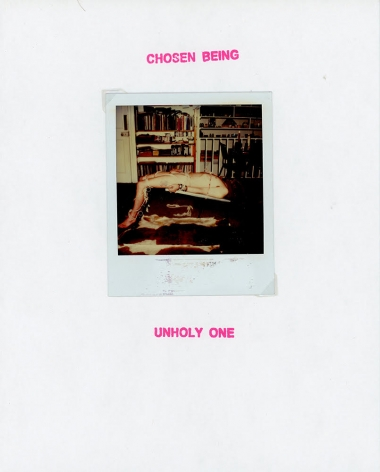 GENESIS BREYER P-ORRIDGE Chosen Being (Unholy One), 2018