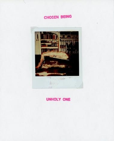 GENESIS BREYER P-ORRIDGE Chosen Being (Unholy One), 2018