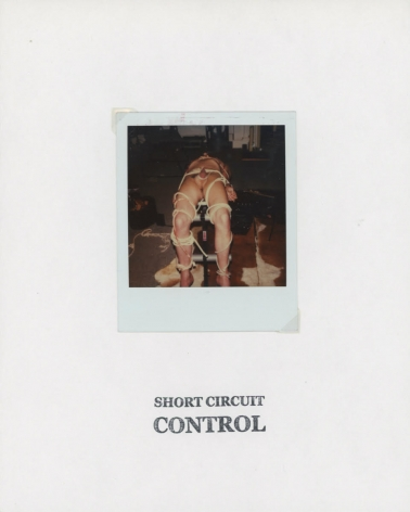 GENESIS BREYER P-ORRIDGE Short Circuit Control, 2018