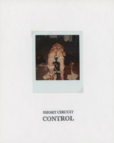GENESIS BREYER P-ORRIDGE Short Circuit Control, 2018