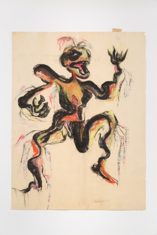 Sara Kathryn Arledge Untitled (Dancing Man), 1953