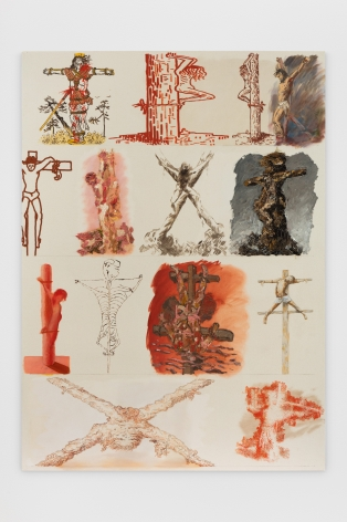 Joshua Miller Unity and Apathy, Crucifixes, 2019