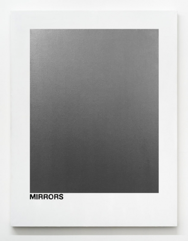 MIRRORS (Portrait of Andy Warhol), 2017