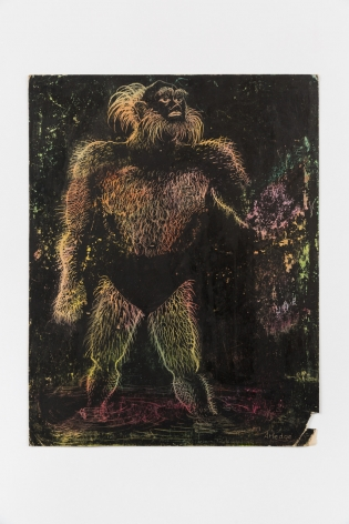 Sara Kathryn Arledge Untitled (Hairy Man), 1970