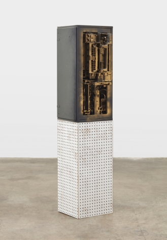 Phil Wagner, Untitled, 2019 mixed media sculpture 33 x 16 x 15 inches 83.82 x 40.64 x 38.1 cm #PW006