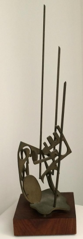 Untitled bronze sculpture by Maxwell Chayat.