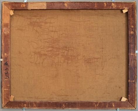 Verso of Surf at Low Tide by Edward Potthast.
