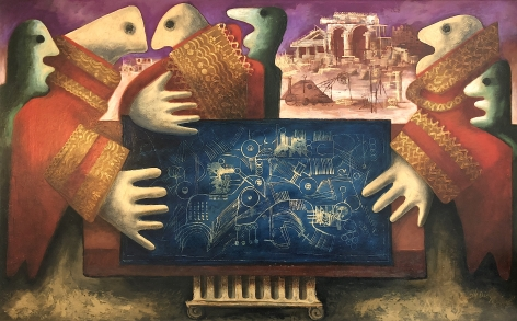 """""""Blueprint of the Future"""" by Julio De Diego."""
