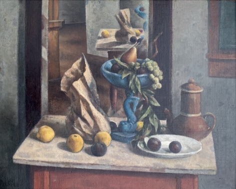 """""""Blue Compote"""" by Henry Lee McFee."""