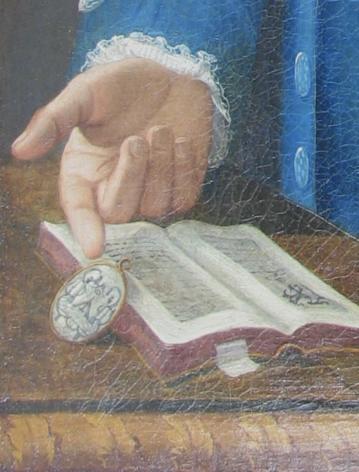 Detail Man in Blue by John Mare.