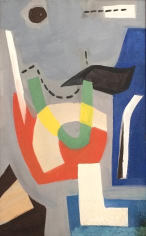 Vaclav Vytlacil 1938 Untitled Abstraction.