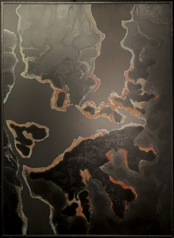 Frame on painting #4 by Stanley Twardowicz.