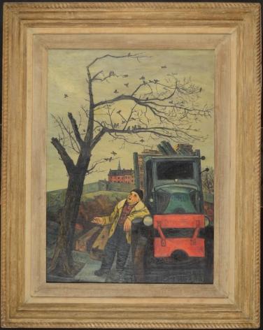 """Frame of """"Junkman's Serenade"""" by Gregorio Prestopino."""