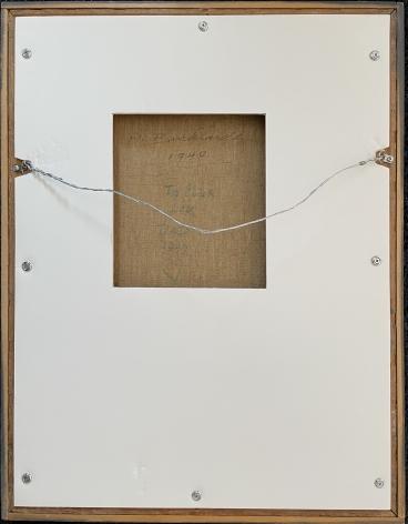 """Verso of """"Ballerinas"""" by Hans Burkhardt."""