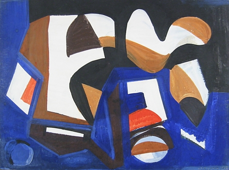 Vaclav Vytlacil sold archive 1938 untitled abstraction.