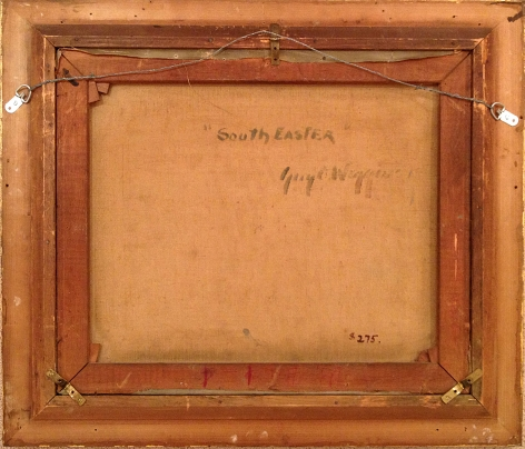 Verso of SouthEaster by Guy C. Wiggins.